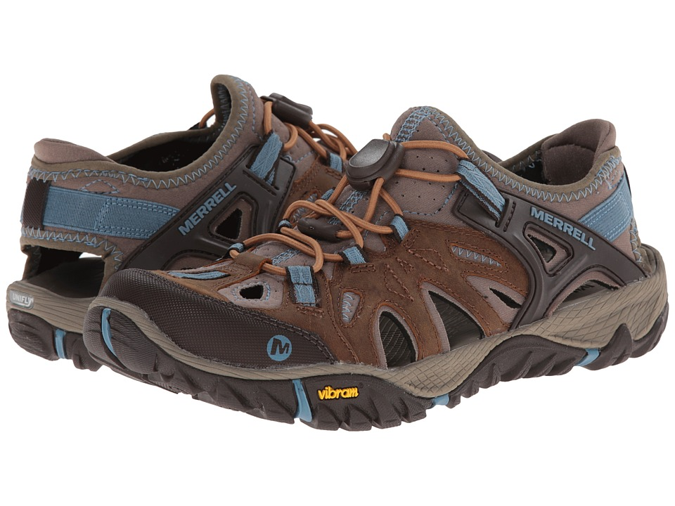 Merrell All Out Blaze Sieve (Brown Sugar/Blue Heaven) Wom...