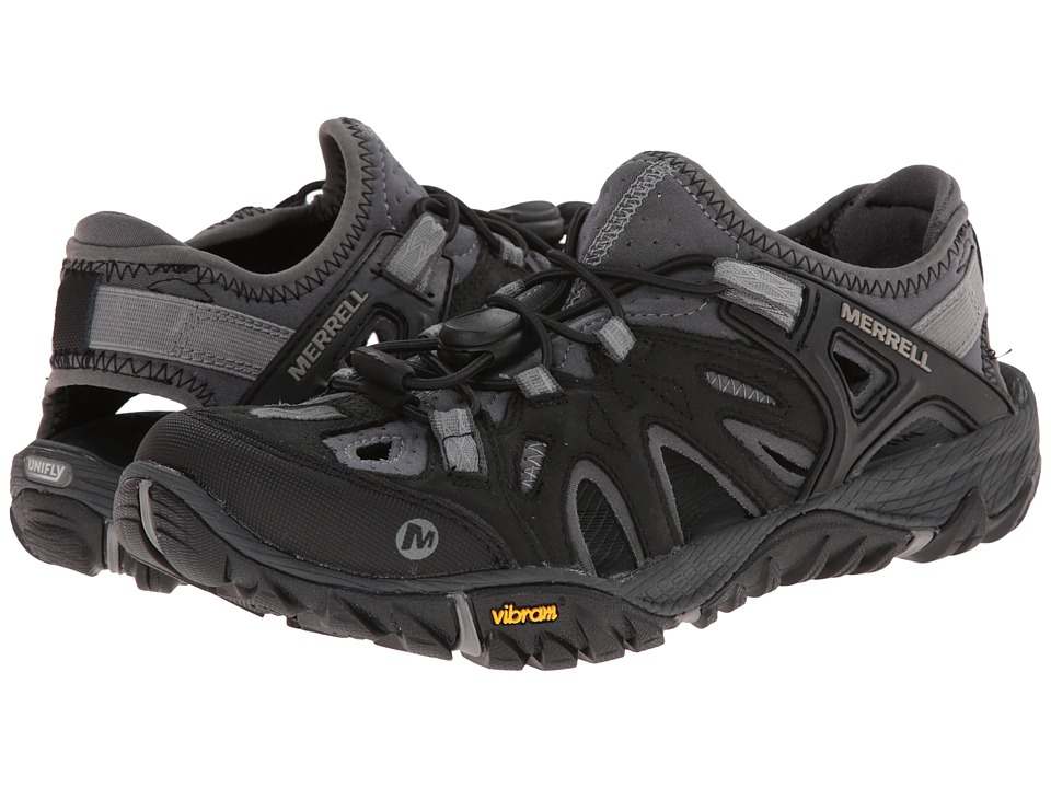 Merrell All Out Blaze Sieve Black Womens Shoes