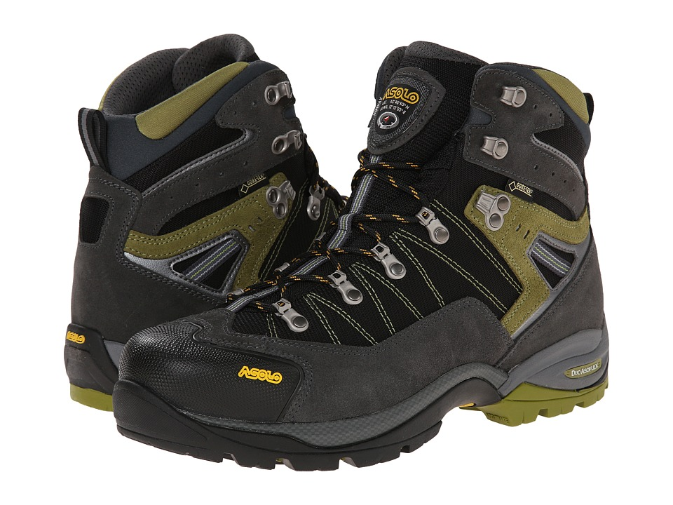 Asolo Avalon GTX Graphite/Black Mens Hiking Boots