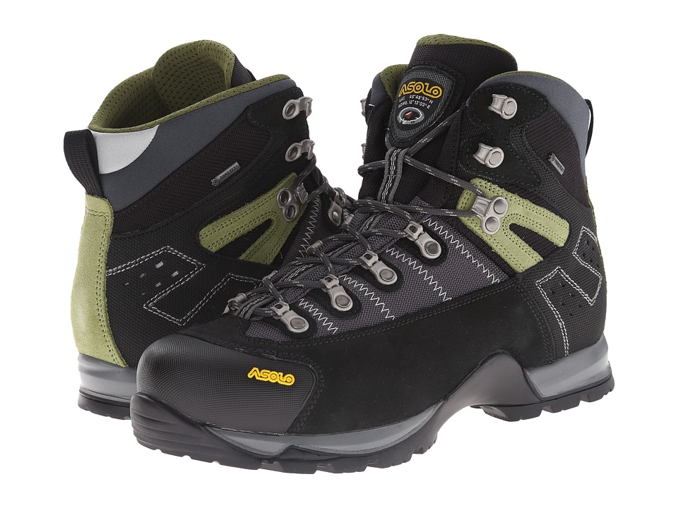Asolo Fugitive GTX(r) (Black/Gunmetal) Men