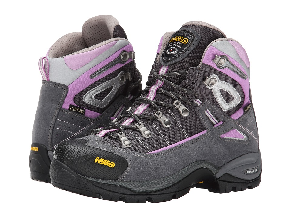 Asolo Futura GTX Grey/Orchidea Womens Hiking Boots