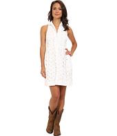 Stetson - 9143 White Eyelet Dress