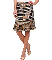 NIC+ZOE - Flared Squares Wink Skirt