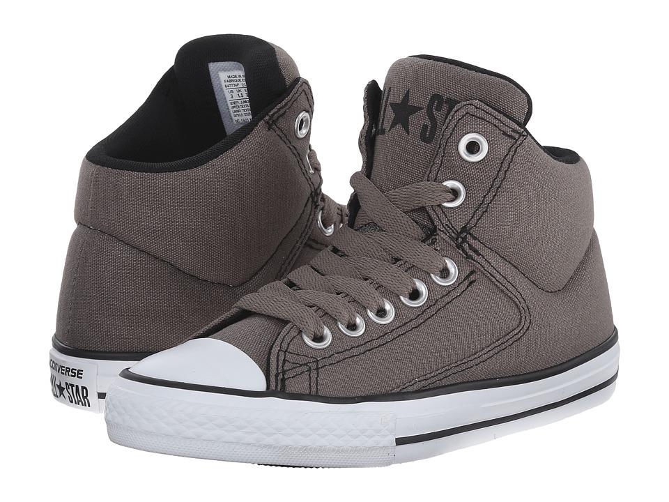 Converse Kids - Chuck Taylor All Star High Street Hi (Little Kid/Big Kid) (Charcoal) Boys Shoes
