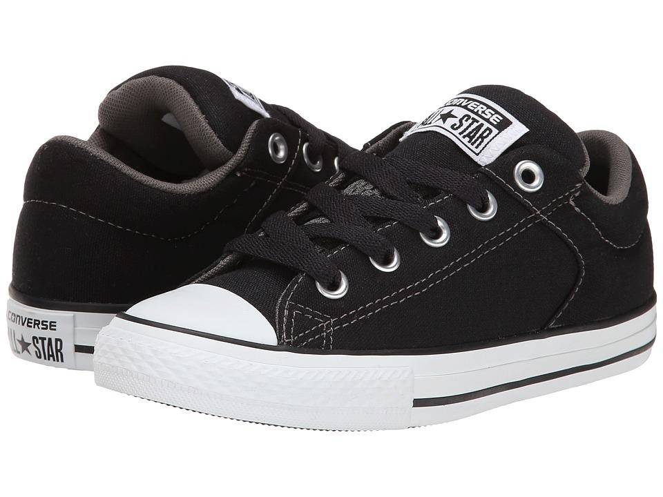 Converse Kids - Chuck Taylor All Star High Street Slip (Little Kid/Big Kid) (Black) Boys Shoes