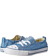 Converse Kids - Chuck Taylor® All Star® Shoreline Star Perf Slip (Little Kid/Big Kid)