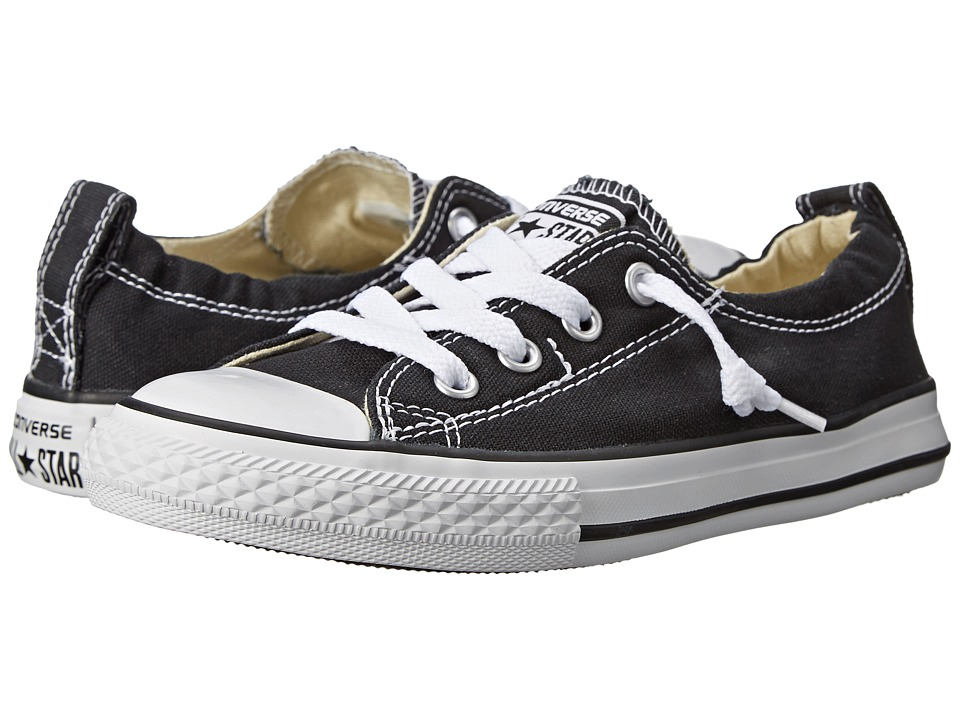 Converse Kids Chuck Taylor All Star Shoreline Slip (Little Kid/Big Kid) (Black) Girls Shoes