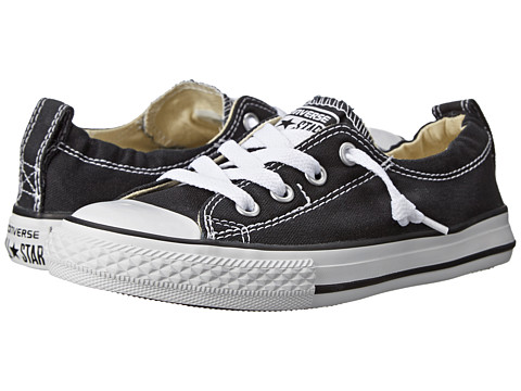 Converse Kids Chuck Taylor® All Star® Shoreline Slip (Little Kid/Big Kid) - Black