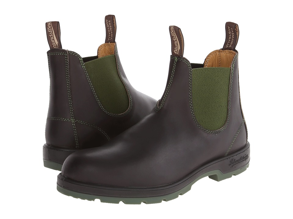 Blundstone 1402 (Brown/Olive) Pull-on Boots