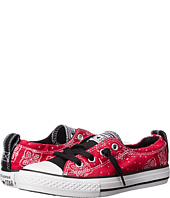 Converse Kids - Chuck Taylor® All Star® Shoreline Bandana Print Slip (Little Kid/Big Kid)