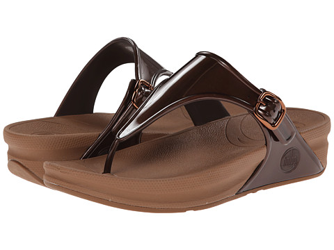 FitFlop Super Jelly - Bronze