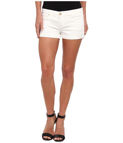 Blank NYC The Basic Cuff Short in White Lines