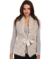 Brigitte Bailey - Fuzzy Belted Vest