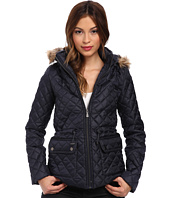 Gabriella Rocha - Quilted Puffer with Faux Fur Trim Hood