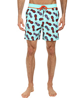 Original Penguin - Pineapple Print Volley Swim
