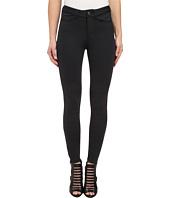 Mavi Jeans - Adriana Moto Midrise Skinny Scuba Biker Ankle in Black Scuba