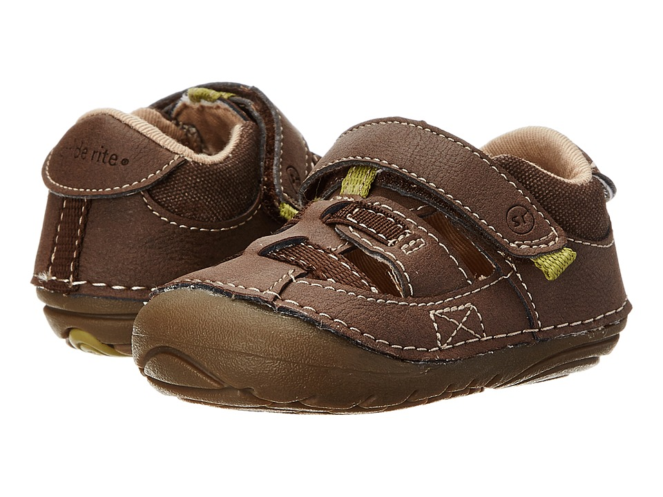 Stride Rite - SRT SM Antonio (Infant/Toddler) (Brown) Boys Shoes