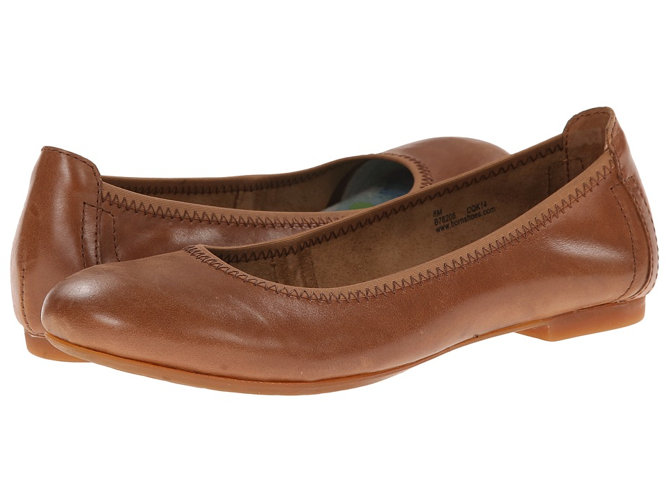 Born Julianne (Mid Brown) Flats