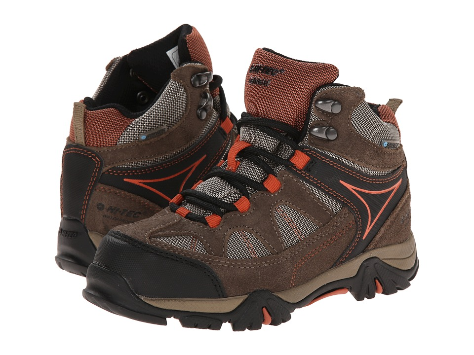Hi Tec Kids Altitude Lite I WP Toddler/Little Kid/Big Kid Smokey Brown/Taupe/Red Rock Kids Shoes