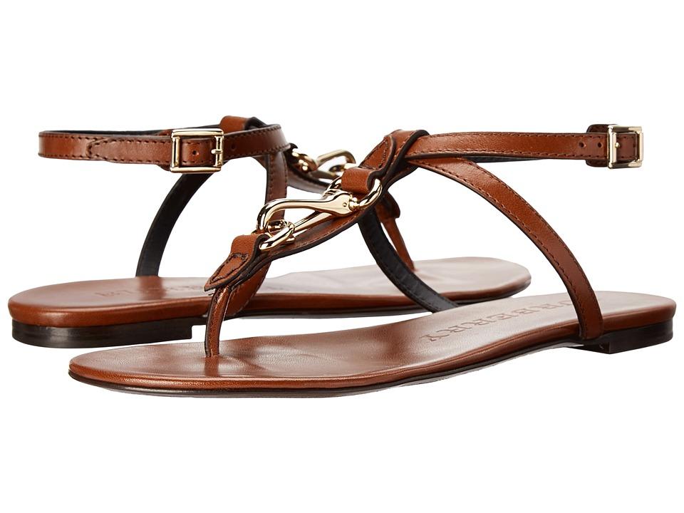 Burberry Reason Dark Tan Womens Shoes