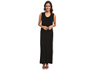 KAMALIKULTURE Go Sleeveless U-Neck Maxi (Black)