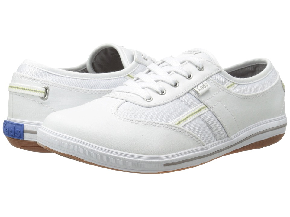 Keds Craze T-Toe (White Stretch Twill) Women