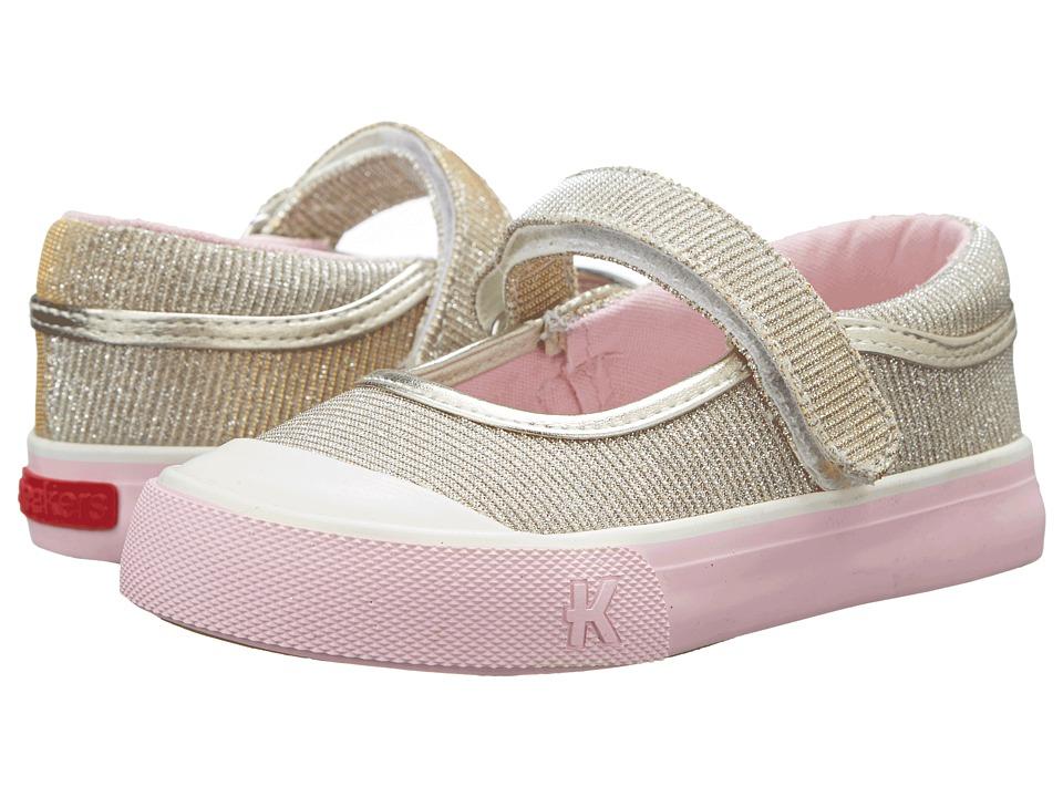 See Kai Run Kids Florence Toddler/Little Kid Gold Girls Shoes