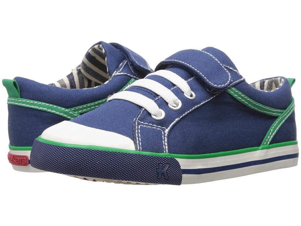See Kai Run Kids Anders Toddler/Little Kid Navy Boys Shoes