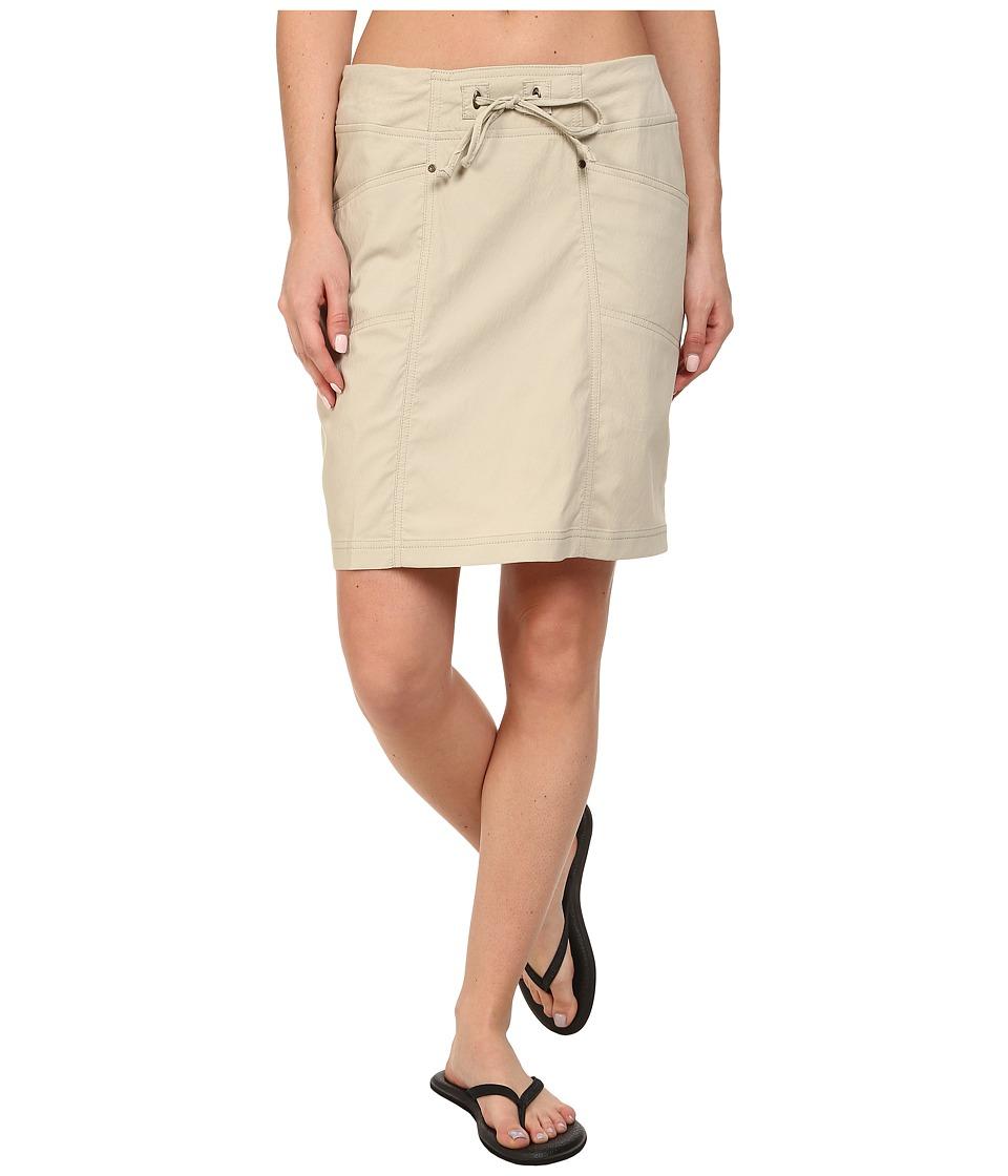 Royal Robbins Jammer Skirt (Light Khaki) Women