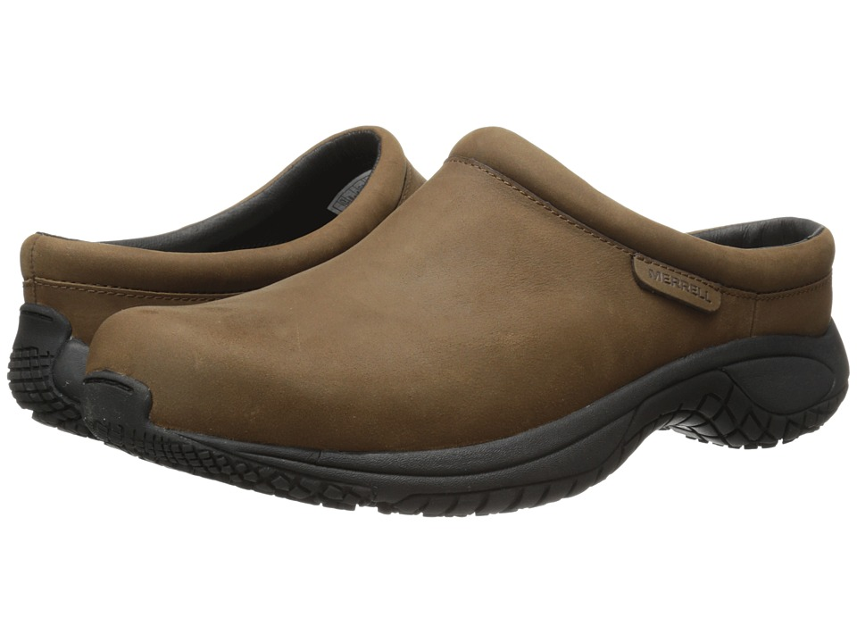 Merrell - Encore Slide Pro Grip Nubuck (Brown) Men