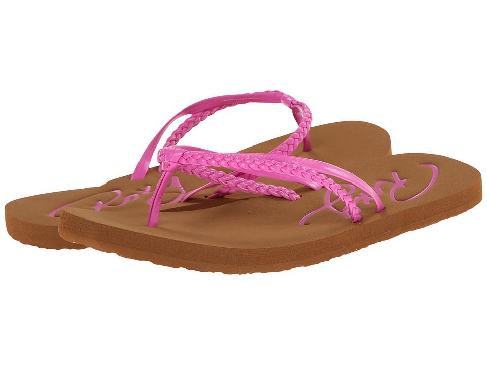 Roxy Kids Cabo (Little Kid/Big Kid) (Hot Pink) Girls Shoes