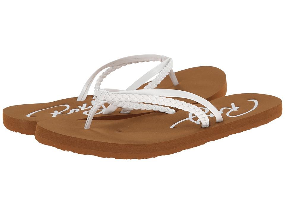 Roxy Kids Cabo Little Kid/Big Kid White Girls Shoes