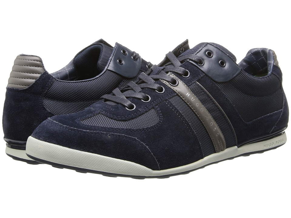 BOSS Hugo Boss Akeen by BOSS Green Open Blue Mens Lace up casual Shoes