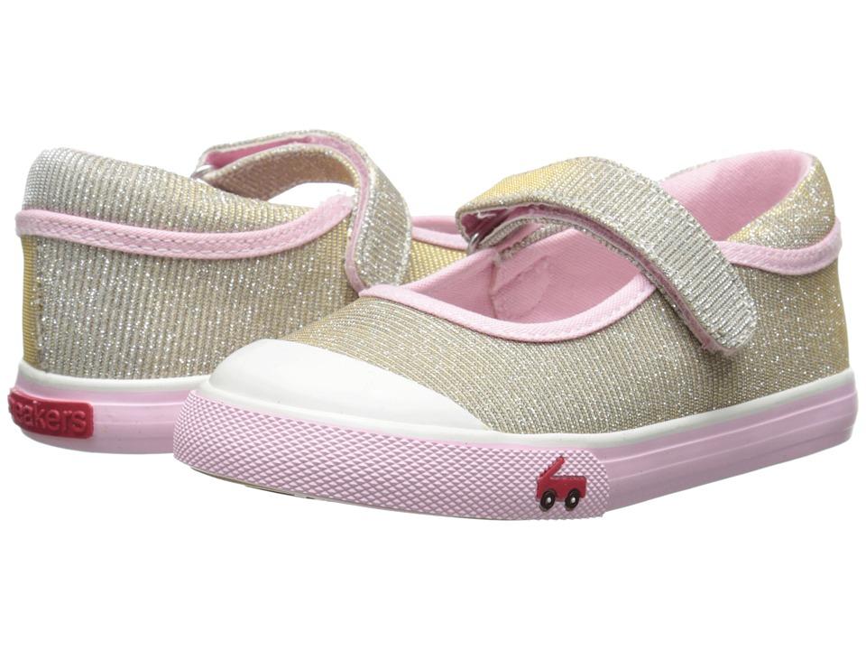 See Kai Run Kids Marie Toddler Gold Girls Shoes