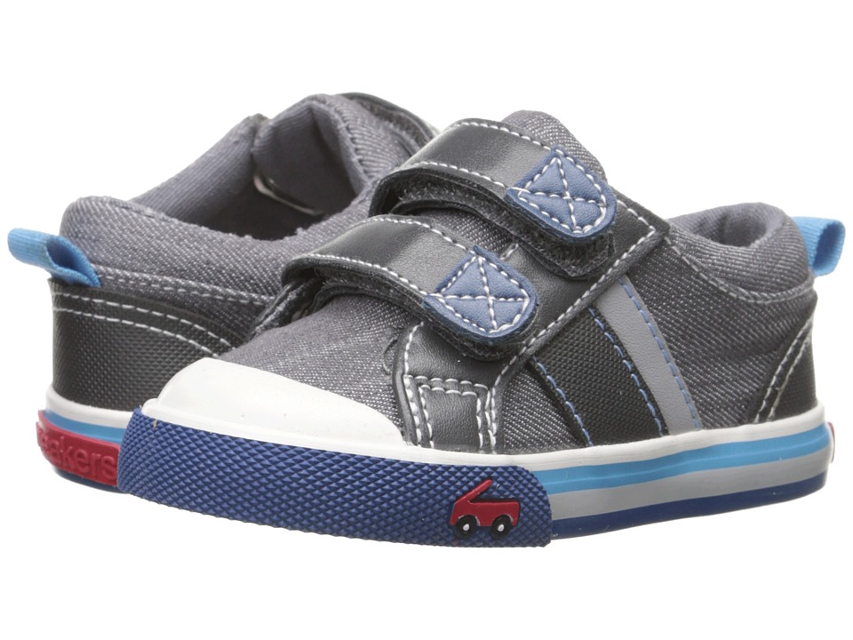 See Kai Run Kids Russell Toddler Gray Boys Shoes