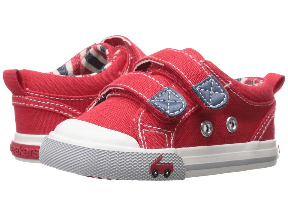 See Kai Run Kids Hess II Toddler Red Boys Shoes