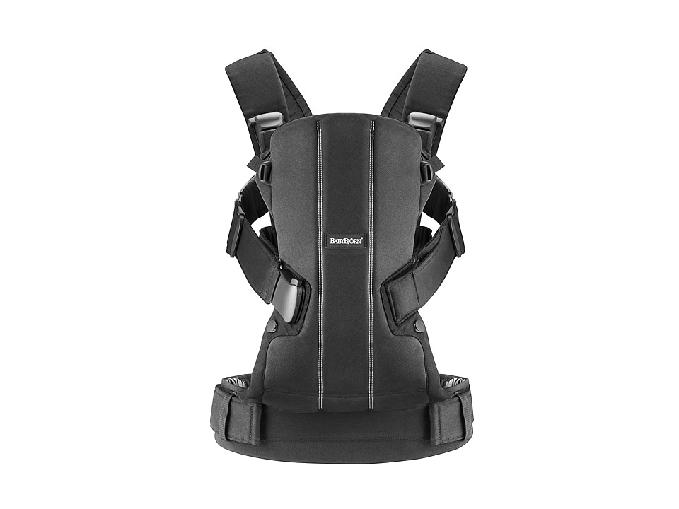 BabyBjorn Baby Carrier WE Black Cotton Carriers Travel