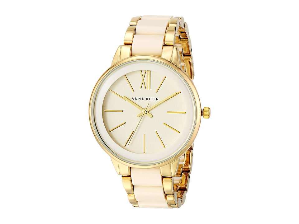 Anne Klein - AK-1412IVGB (Ivory/Gold) Watches