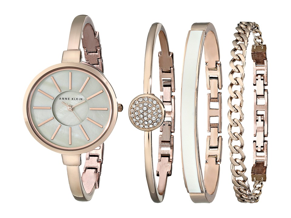 Anne Klein - AK-1470RGST (Rose Gold) Watches