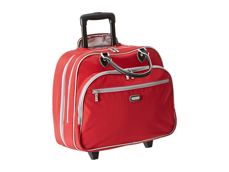 Baggallini Rolling Tote Apple Weekender/Overnight Luggage