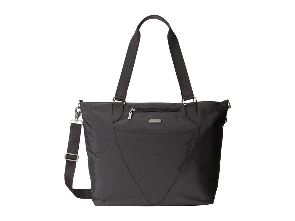 Image of Baggallini - Avenue Tote (Charcoal) Tote Handbags