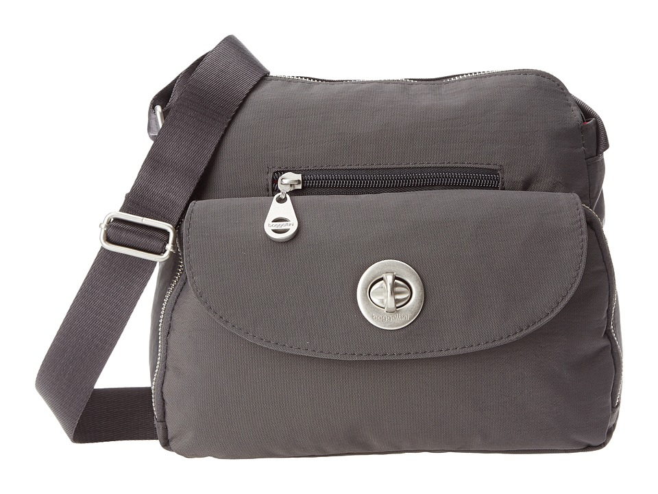 Baggallini - Provence Crossbody (Charcoal) Cross Body Handbags