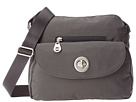 Baggallini Provence Crossbody (Charcoal)