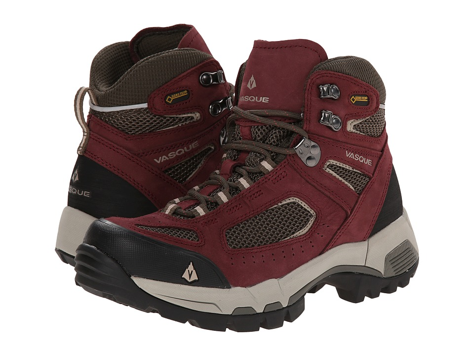 Vasque - Breeze 2.0 GTX (Red Mahogany/Black Olive) Women