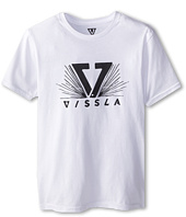 VISSLA Kids - Starburst S/S Tee (Big Kids)