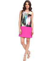 Aryn K - Color Block Shift Mini Dress
