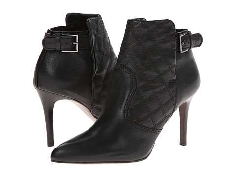 Shop Tory Burch online and buy Tory Burch Orchard 85mm Bootie Black Footwear - Zappos.com is proud to offer the Tory Burch - Orchard 85mm Bootie (Black) - Footwear: The Orchard from Tory Burch provides uncompromising style with a modern flair. ; Pointed toe ankle boots. ; Smooth leather upper with quilted leather panel at instep. ; Pull on design with side zip closure. ; Buckle accent. ; Smooth leather lining. ; Padded leather insole. ; Stacked heel. ; Textured leather outsole. ; Imported. Measurements: ; Heel Height: 3 1 2 in ; Weight: 10 oz ; Circumference: 8 1 2 in ; Shaft: 5 in ; Product measurements were taken using size 8.5, width M. Please note that measurements may vary by size.