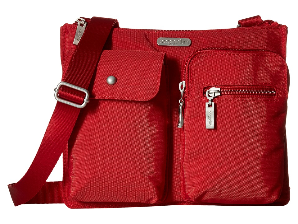 Baggallini Everything Bagg (Apple) Cross Body Handbags