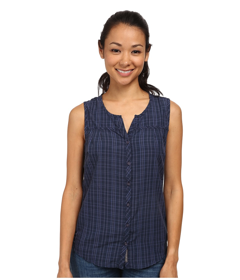 ToadampCo Lightness Sleeveless Shirt Deep Navy Womens Sleeveless
