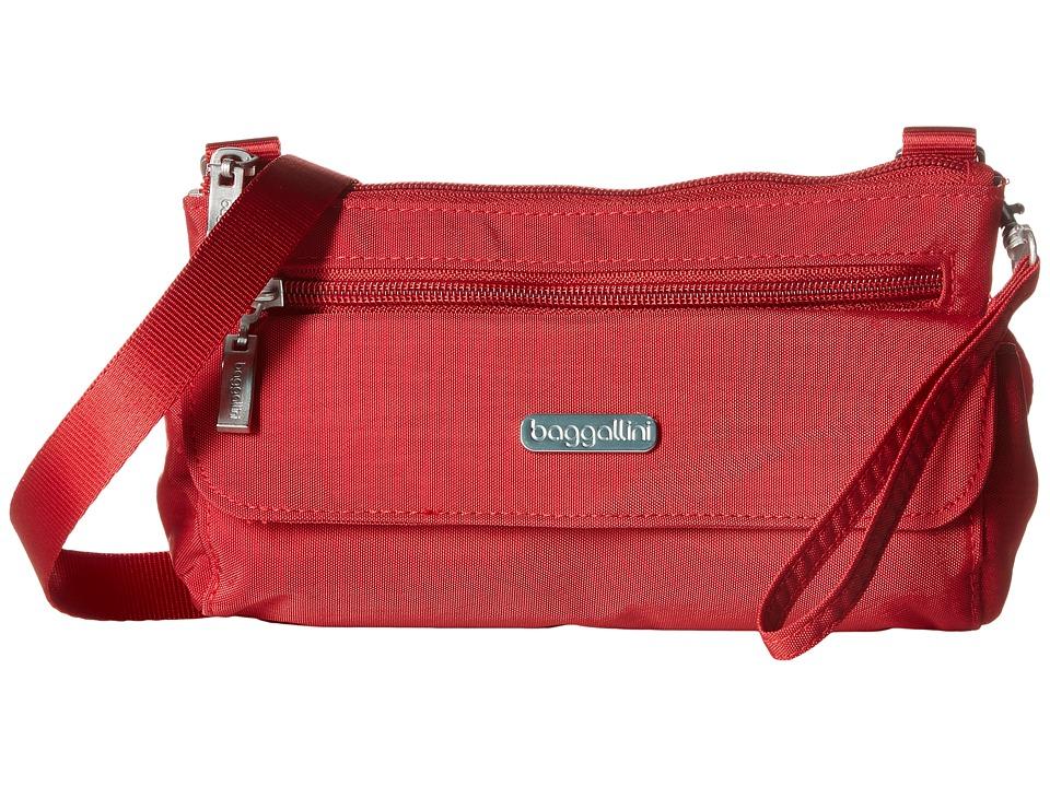 Baggallini Plaza Mini Apple Cross Body Handbags